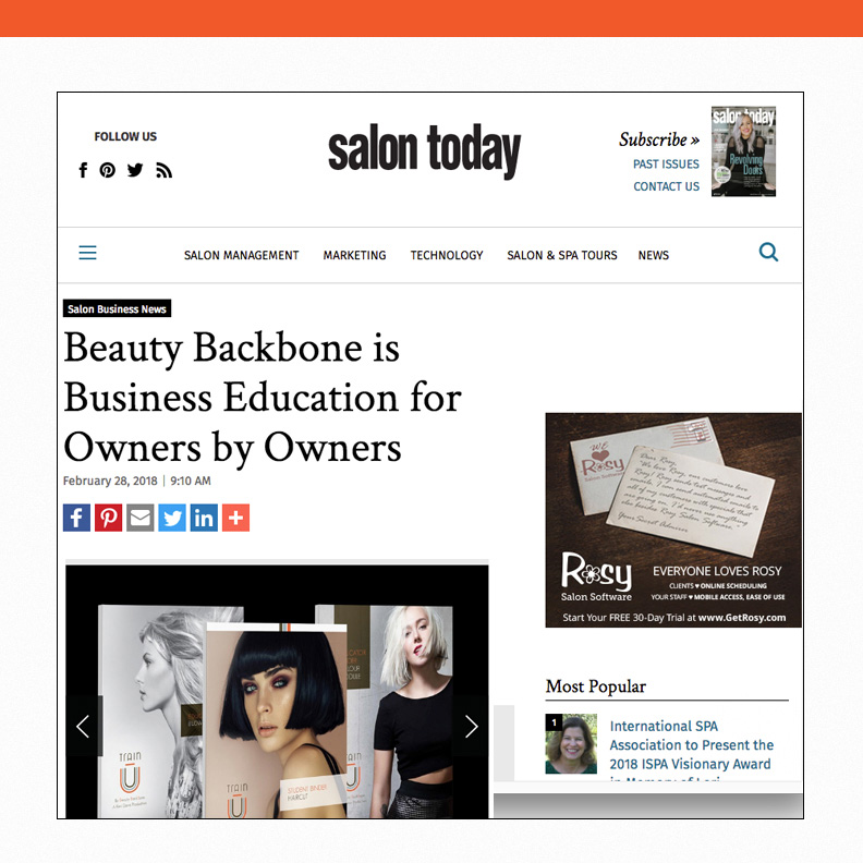 Beauty Backbone is Business Education for Owners by Owner