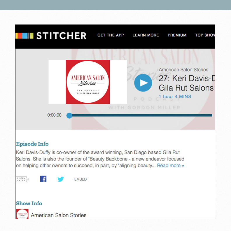 Stitcher Article