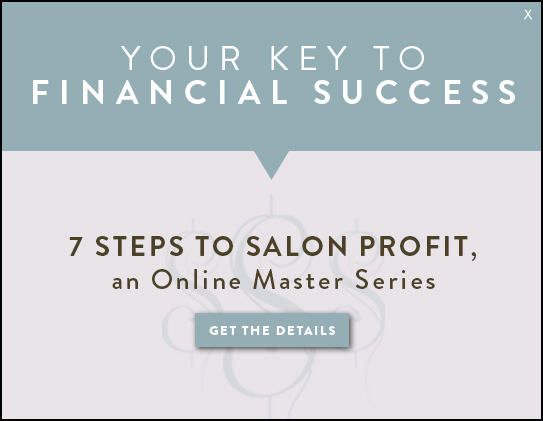 7 steps to salon profit
