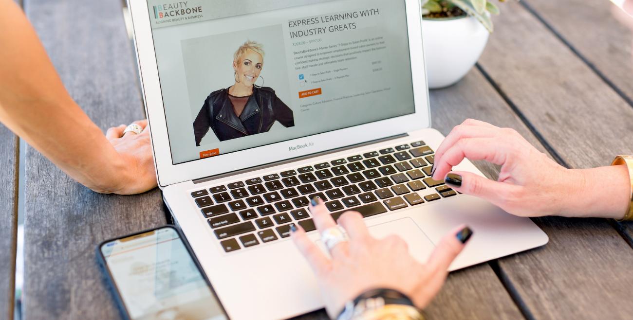 beauty backbone webinar express learning with industry greats